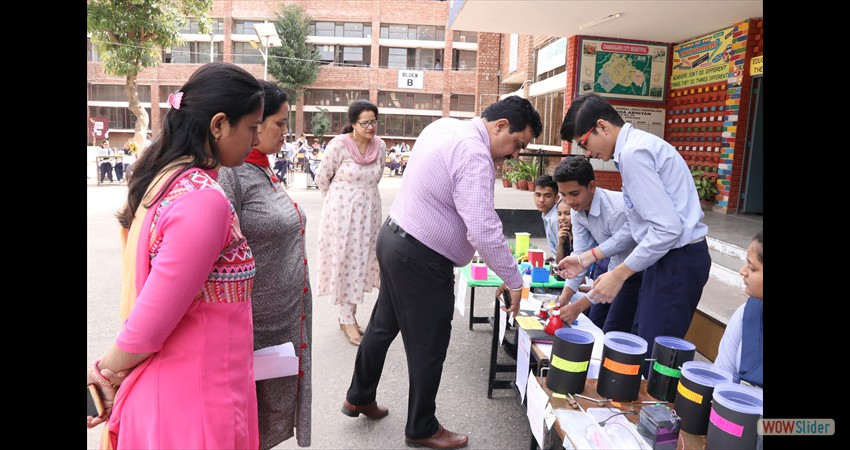 Cluster Level Science Exhibition